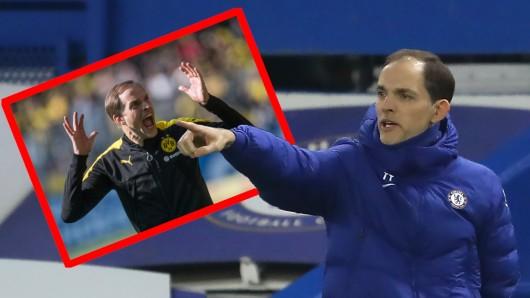 Thomas Tuchel zieht nach seinem Debüt in London einen bemerkenswerten Vergleich zu Borussia Dortmund.
