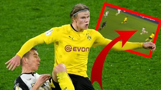Nach Borussia Dortmund gegen Paderborn giebt es einen Riesenzoff um die spielentscheidende Szene.