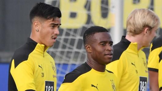 Bei Borussia Dortmund seit Monaten außenvor, soll Reinier (l.) bald für seinen Trainingseifer belohnt werden.