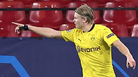 Sevilla – Dortmund: Haaland und Co konnten die BVB-Fans nach tristen Wochen endlich wieder verzaubern.