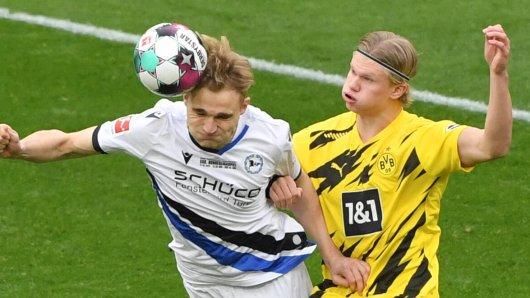 Borussia Dortmund empfängt am 23. Spieltag Arminia Bielefeld.
