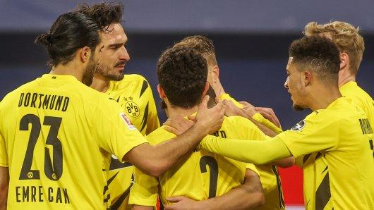 Borussia Dortmund feiert Jadon Sancho und Mahmoud Dahoud – doch auch Mateu Morey liefert derzeit beeindruckend ab.