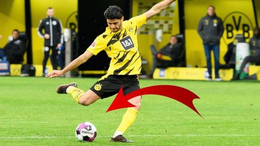 Borussia Dortmund: Dahoud stellt mit seinem Treffer die Weichen für einen Rekord.