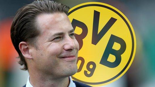 Borussia Dortmund: NLZ-Chef Lars Ricken freut sich über die Verpflichtung von Juwel Tom Rothe.