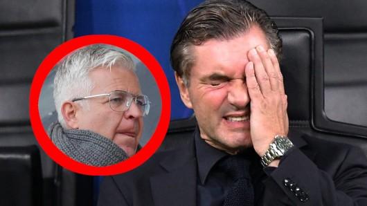 Borussia Dortmund wird von Nübel-Berater Stefan Backs heftig kritisiert.