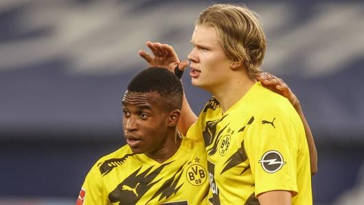 Borussia Dortmund muss für den Rest der Saison auf Yossoufa Moukoko verzichten.