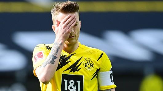 Marco Reus verhielt sich bei der Niederlage von Borussia Dortmund gegen Frankfurt nicht wie ein Kapitän.