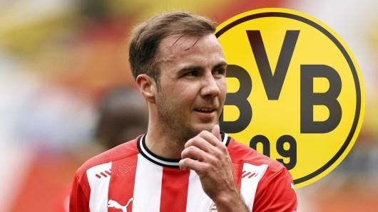 Mario Götze hat nach langer Zeit mal wieder eine Botschaft an Borussia Dortmund gesendet.