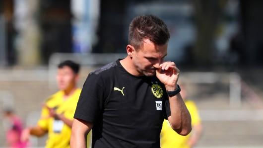 Borussia Dortmund muss sich um den Verlust von U23-Trainer Enrico Maaßen sorgen.