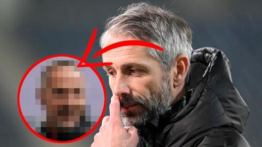 Nach der Wut auf Borussia Dortmund und Marco Rose (r.) hat sich nun wohl auch Gladbach per Ausstiegsklausel einen Trainer geschnappt.