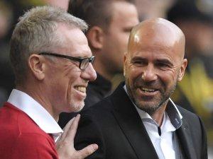 Peter Stöger (l.), Borussia Dortmunds Ex-Trainer, hat bei Austria Wien hingeschmissen.