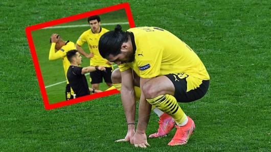 Borussia Dortmund ist ausgeschieden. Eine spielentscheidende Szene: Der kritische Elfmeter gegen Emre Can.