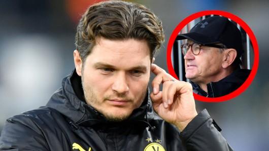Bei Borussia Dortmund muss BVB-Trainer Edin Terzic sich Kritik von Experte Ewald Lienen anhören.
