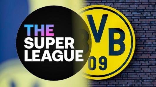 Borussia Dortmund soll an der Super League teilnehmen.
