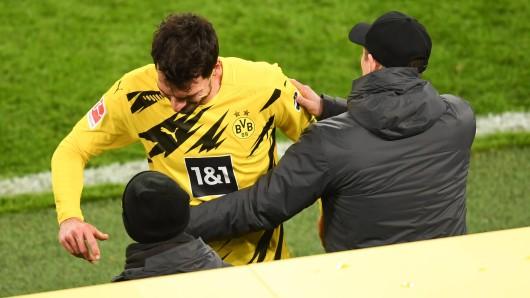 Borussia Dortmund muss in Wolfsburg ohne Mats Hummels auskommen.
