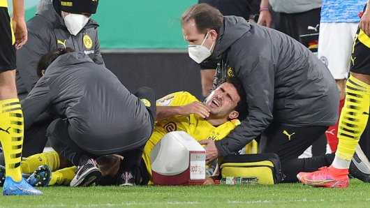 Borussia Dortmund leidet mit Mateu Morey