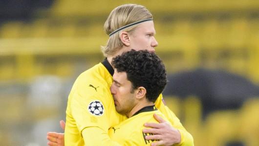 Alle bei Borussia Dortmund litten mit Mateu Morey (r.). Nun hat er eine gute Nachricht.