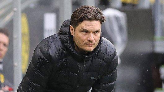 Die Fans von Borussia Dortmund konnten eine Entscheidung von Edin Terzic nicht nachvollziehen.