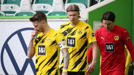 Borussia Dortmund muss auf Marvin Hitz im Pokalfinale verzichten. Erling Haaland bleibt fraglich.