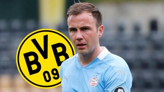 Mario Götze und die PSV Eindhoven zittern vor der Talente-Lust des BVB.