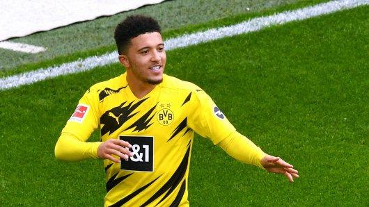 Jadon Sancho hat warme Worte für Borussia Dortmund übrig.