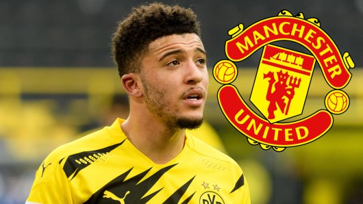 Borussia Dortmunds Star Jadon Sancho steht offenbar nicht mehr ganz oben auf der Wunschliste von Manchester United.