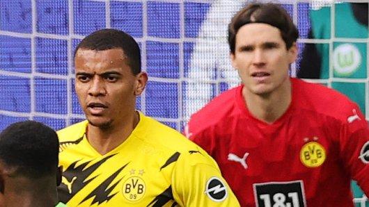 Bei Borussia Dortmund fällt Marwin Hitz (r.) für den Rest der Saison aus.
