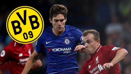 Ist Borussia Dortmund etwa an Marcos Alonso interessiert?