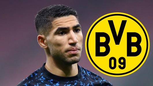 Ex-BVB-Star Achraf Hakimi wird aus England umworben.