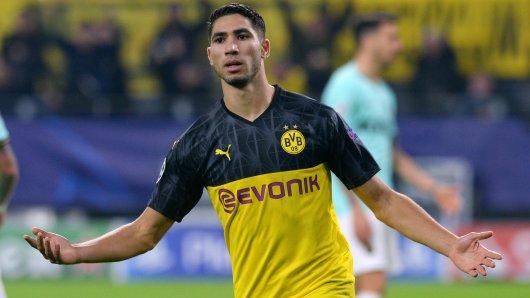 War Leistungsträger bei Borussia Dortmund: Achraf Hakimi.