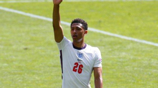 Bellingham stand im ersten Spiel gegen Kroatien auf dem Platz.