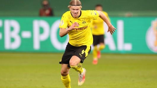 Borussia Dortmund: Erling Haaland ist bei diesem Top-Klub vorerst nicht mehr auf dem Zettel.