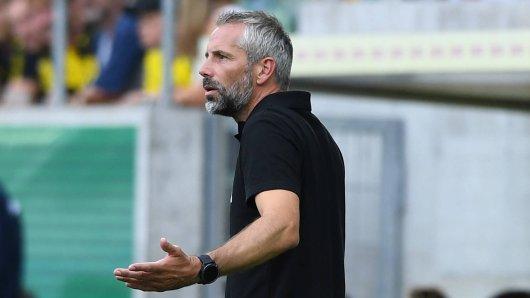 Marco Rose und Borussia Dortmund mussten sich 0:2 geschlagen geben.