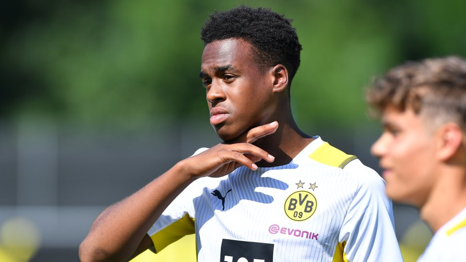 Borussia Dortmund: Jamie Bynoe-Gittens muss einen schmerzhaften Rückschlag verkraften.