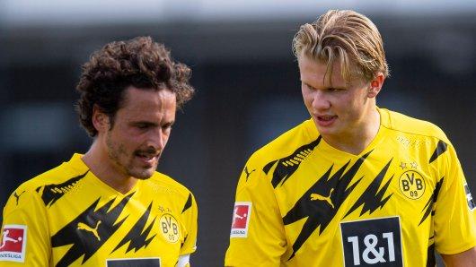 Borussia Doirtmund stellt Thomas Delaney (l.) vor die Wahl.