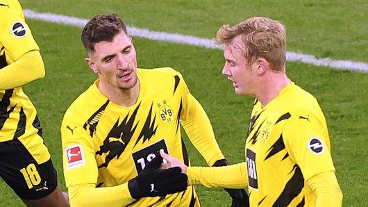 Borussia Dortmund: Thomas Meunier und Julian Brandt wurden positiv auf Corona getestet.