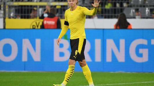 BVB-Star Erling Haaland beeindruckte nach dem Supercup gegen Bayern München gleich mit zwei Aktionen.