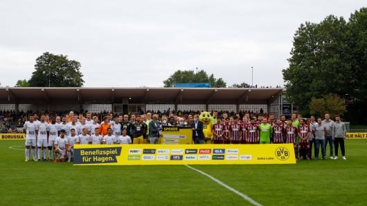 Der BVB tritt im Benefizspiel gegen zwei Amateurclubs an.