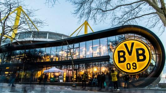 Im Fanshop von Borussia Dortmund finden sich nicht nur Fußball-Artikel.