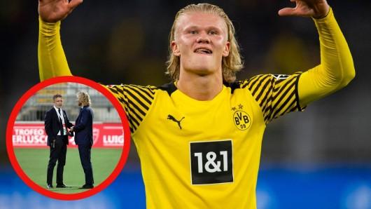 Erling Haaland: Ein europäischer Topklub trauert den Norweger aufgrund eines geplatzten Wechsels hinterher.