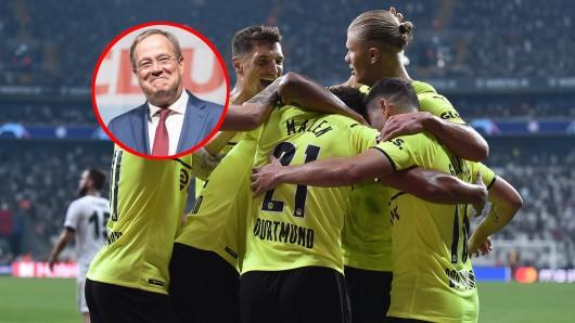 CDU-Kanzlerkandidat Armin Laschet gratulierte Borussia Dortmund zum CL-Sieg. Die Reaktion des BVB verärgerte daraufhin viele Fans.