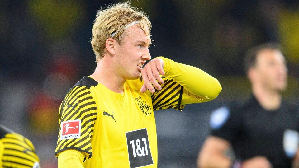 Julian Brandt ist über einen Fakt bei der letzten BVB-Challenge gar nicht einverstanden.