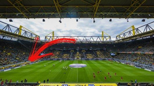 Die Fans von Borussia Dortmund zeigten vor der Partie gegen Union Berlin, wie verärgert sie sind.