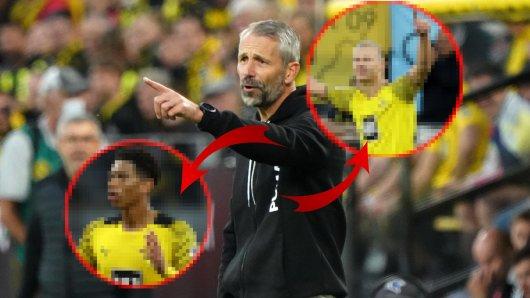 Sie trumpfen auf beim BVB. Jetzt äußert sich Marco Rose zu zwei Youngstern.