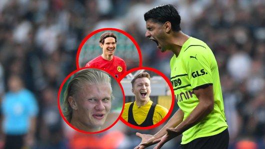 Diese BVB-Stars messen sich im Legendenderby - dabei blamiert sich Mahmoud Dahoud