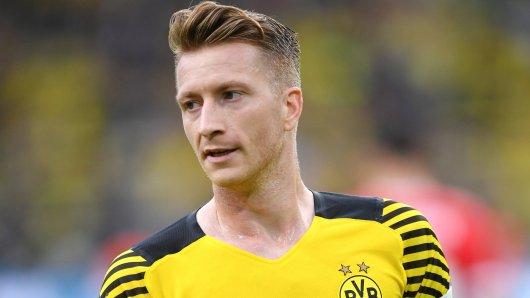 BVB-Kapitän Marco Reus ist sauer.