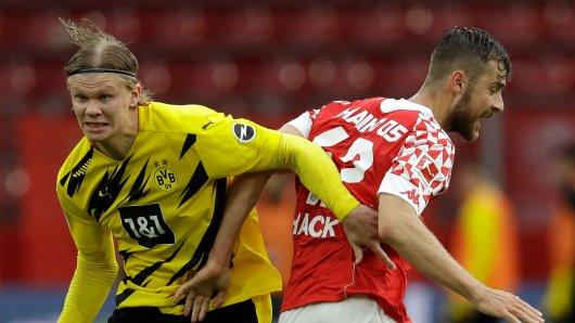 Borussia Dortmund – FSV Mainz 05: Der BVB hofft auf das Comeback von Erling Haaland.