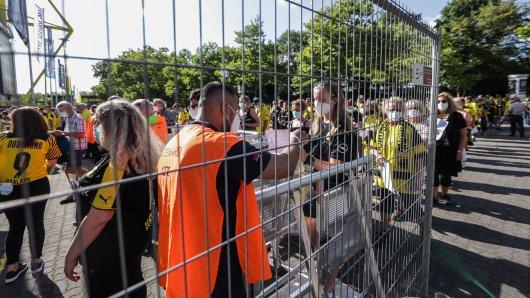 Trotz Sieg, waren einige BVB-Fans verärgert