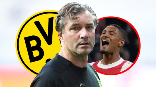 Bei Borussia Dortmund soll Sebastien Haller auf der Liste der potenziellen Haaland-Nachfolger stehen.