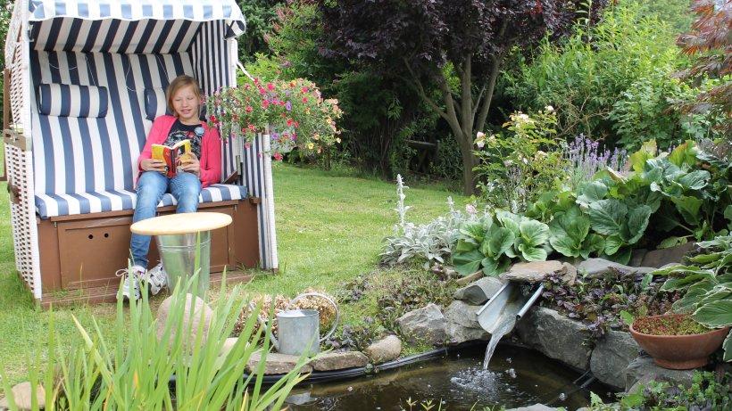 Garten der eigene gartenteich worauf sie beim bau und for Gartenteich pflege